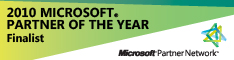 Microsoft Partner of the Year Finalist 2010