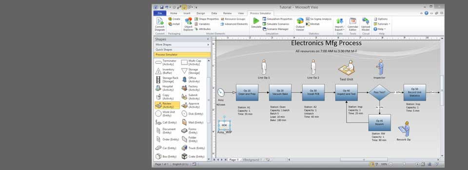 Download  Process Simulator Free Transform Static Flowcharts and Workflow Diagrams
