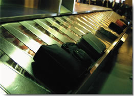 Passenger and Baggage Flow Optimization